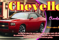 History 2022 Chevy Chevelle