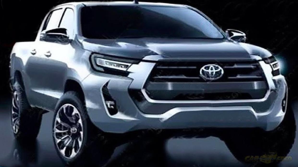 Spesification 2022 Toyota Hilux Spy Shots