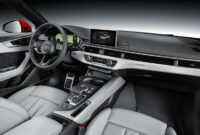 price and review audi a4 2022 interior