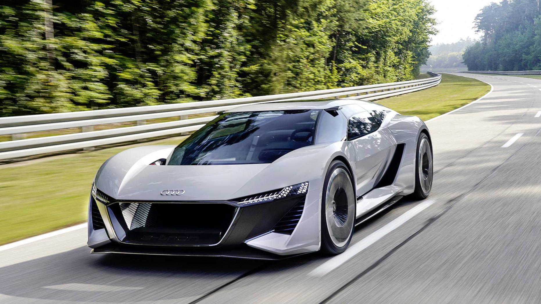 Concept Audi R8 2022 Black