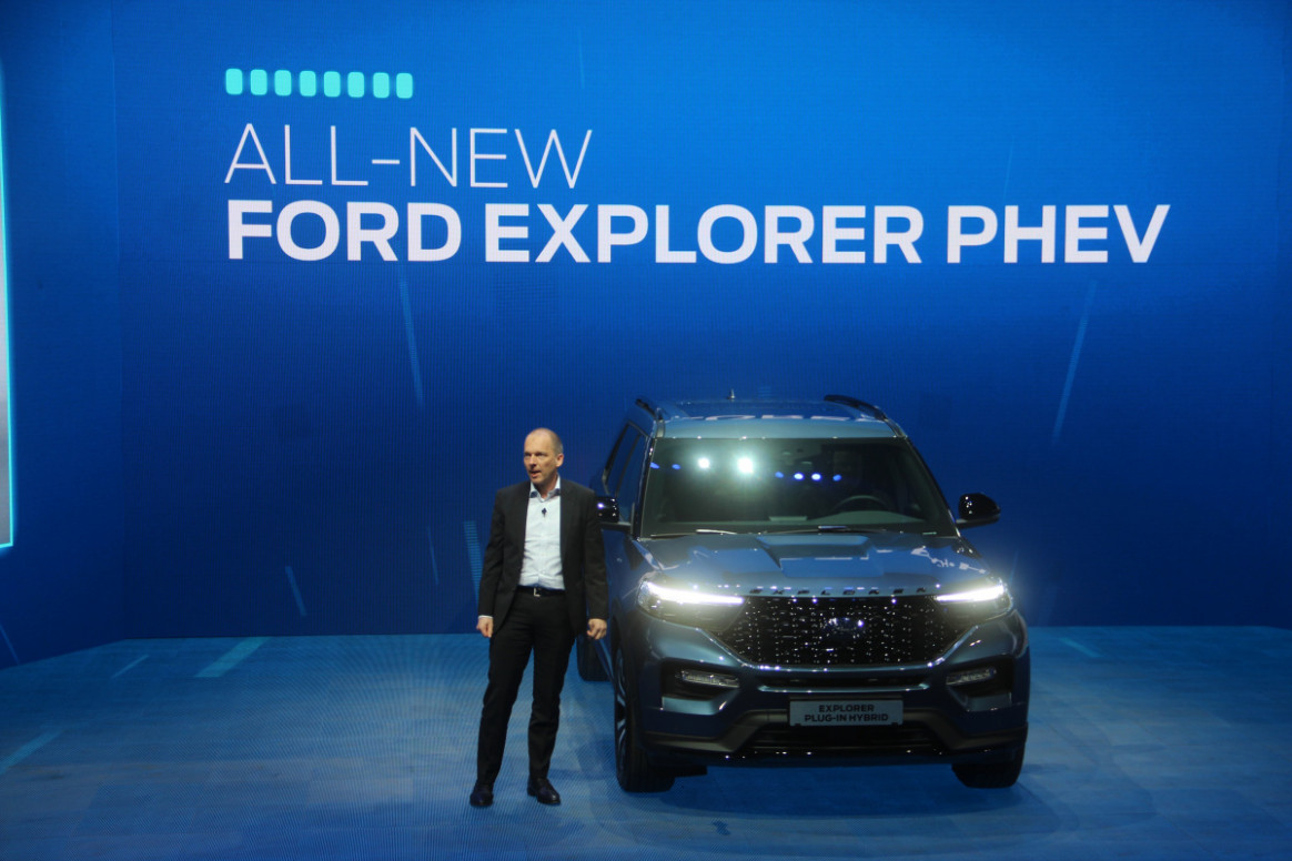 Picture Ford Plug In Hybrid 2022