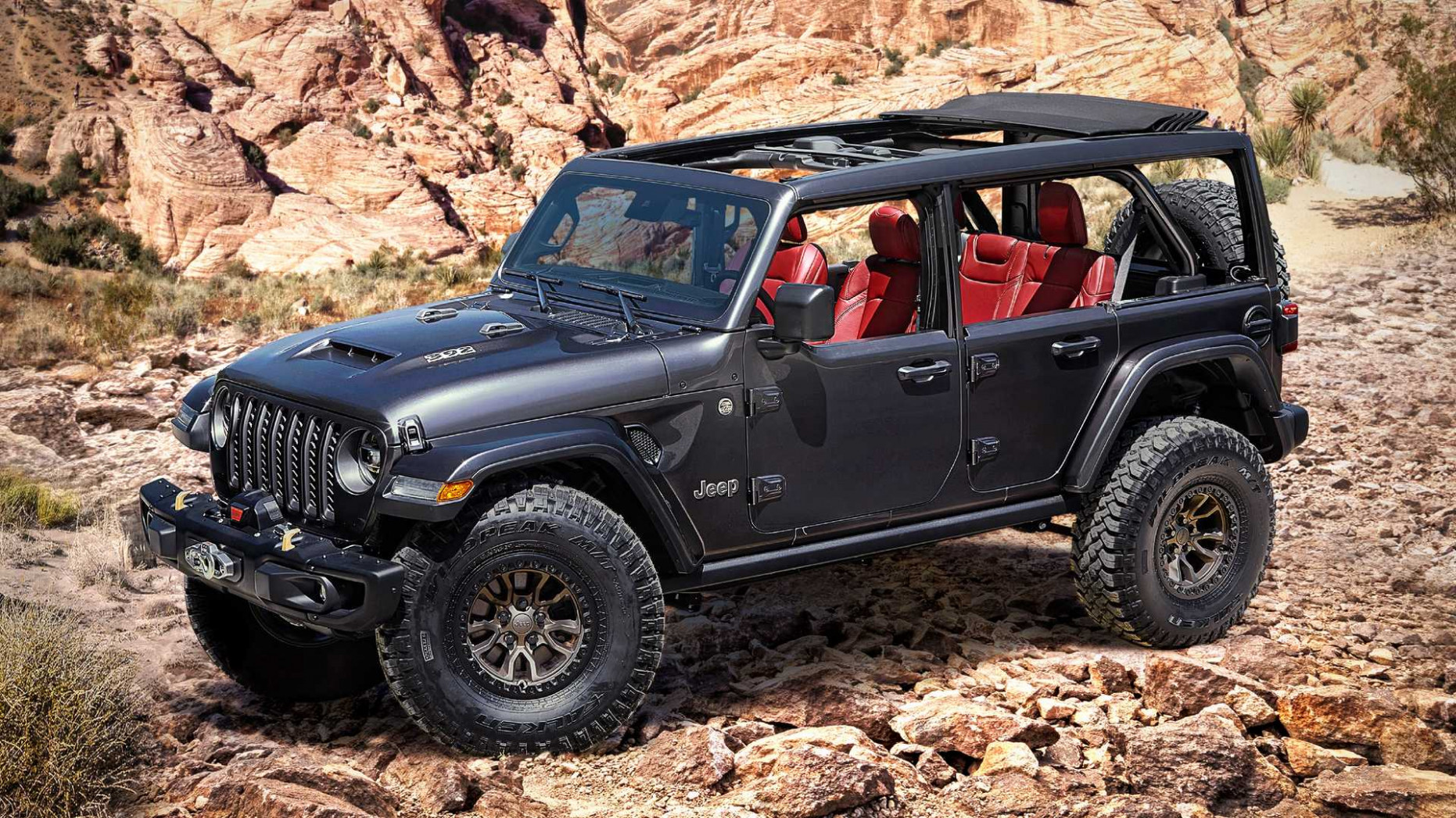 Model Jeep Rubicon 2022