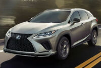 price and review lexus rx 350 f sport 2022