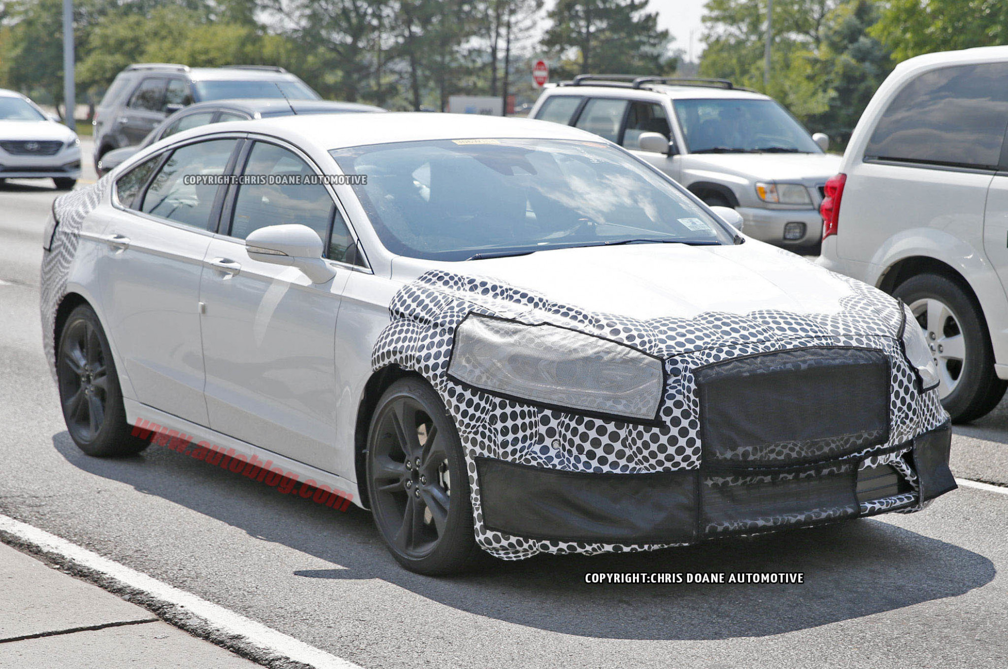 Price, Design and Review Spy Shots Ford Fusion