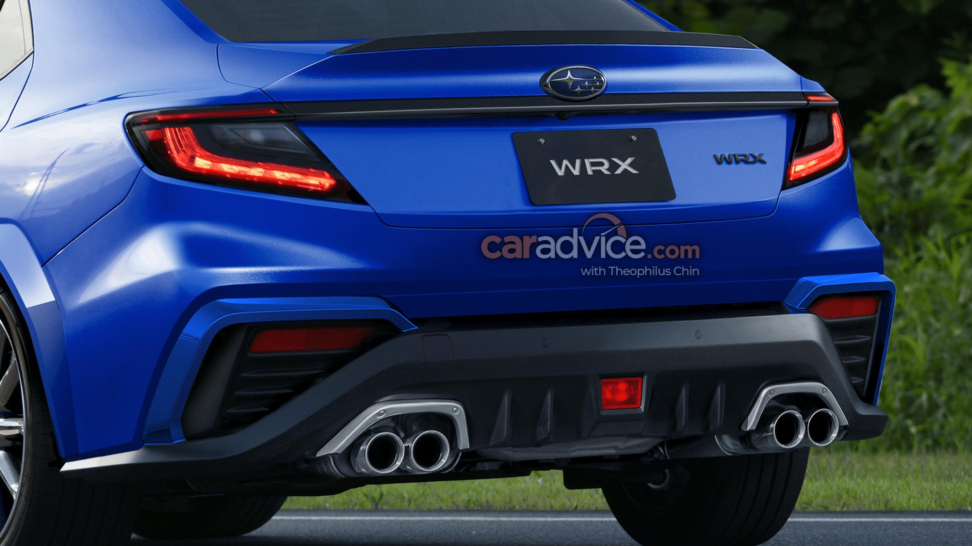 Concept and Review Subaru Wrx 2022 Redesign