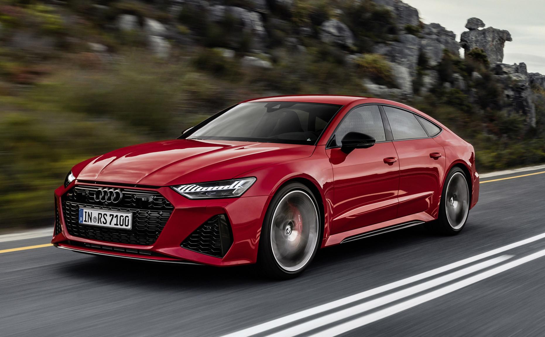 History Audi Rs7 2022