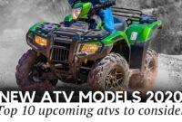 New Model and Performance 2022 Honda Atv Lineup