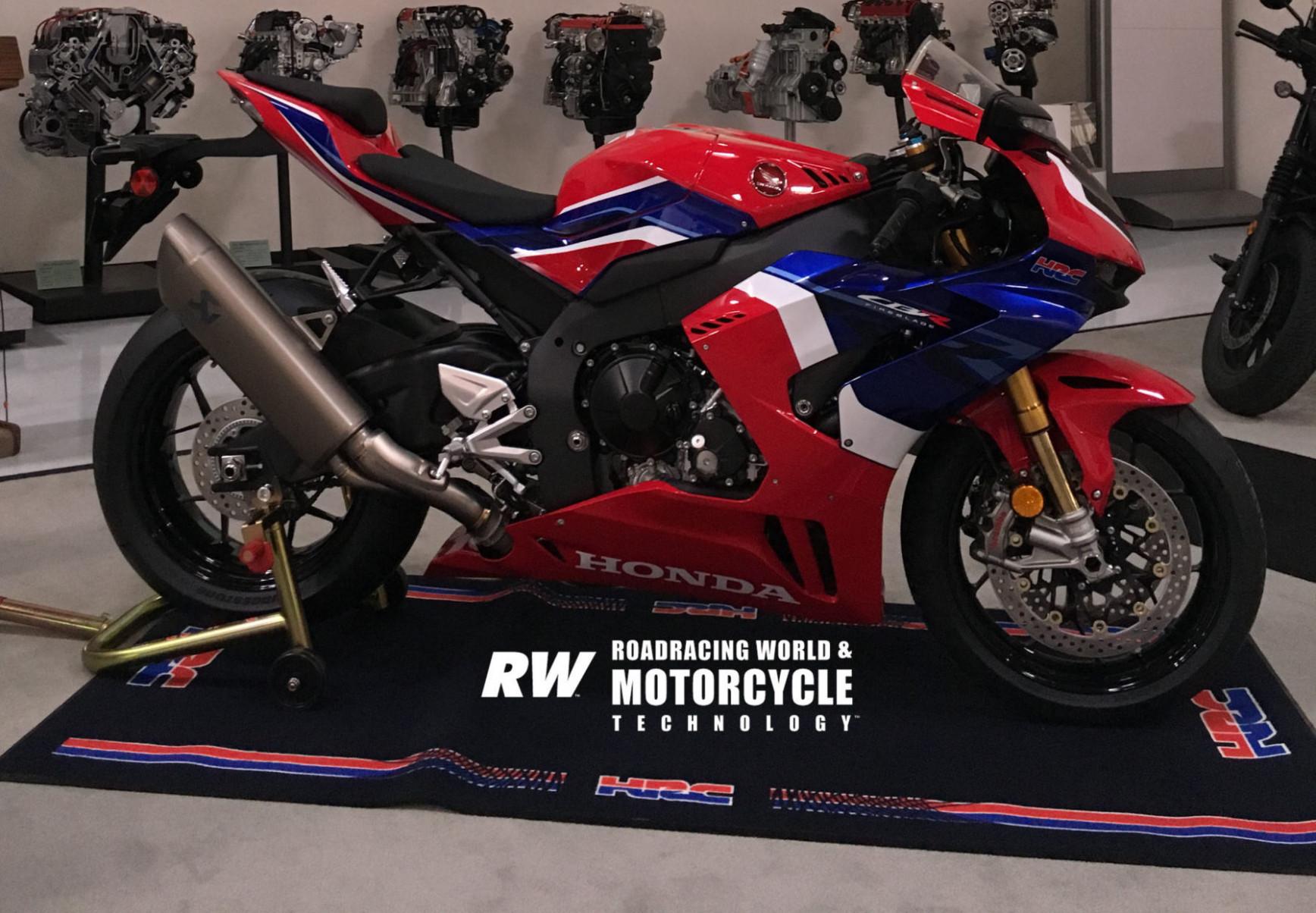 Picture Honda Fireblade 2022