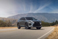 price, design and review lexus rx 350 f sport 2022
