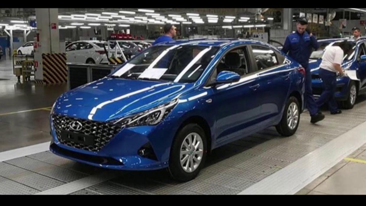 New Concept Hyundai Accent 2022