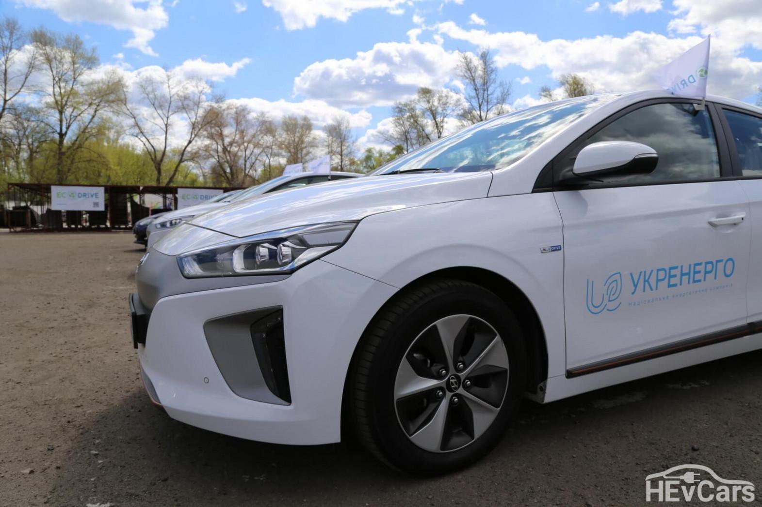 Exterior Hyundai Ioniq Electric 2022 Range