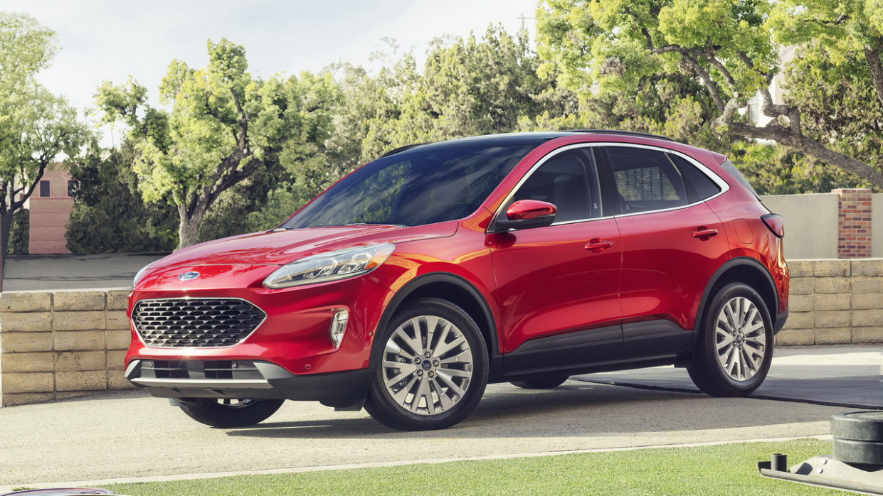 First Drive 2022 Ford Escape