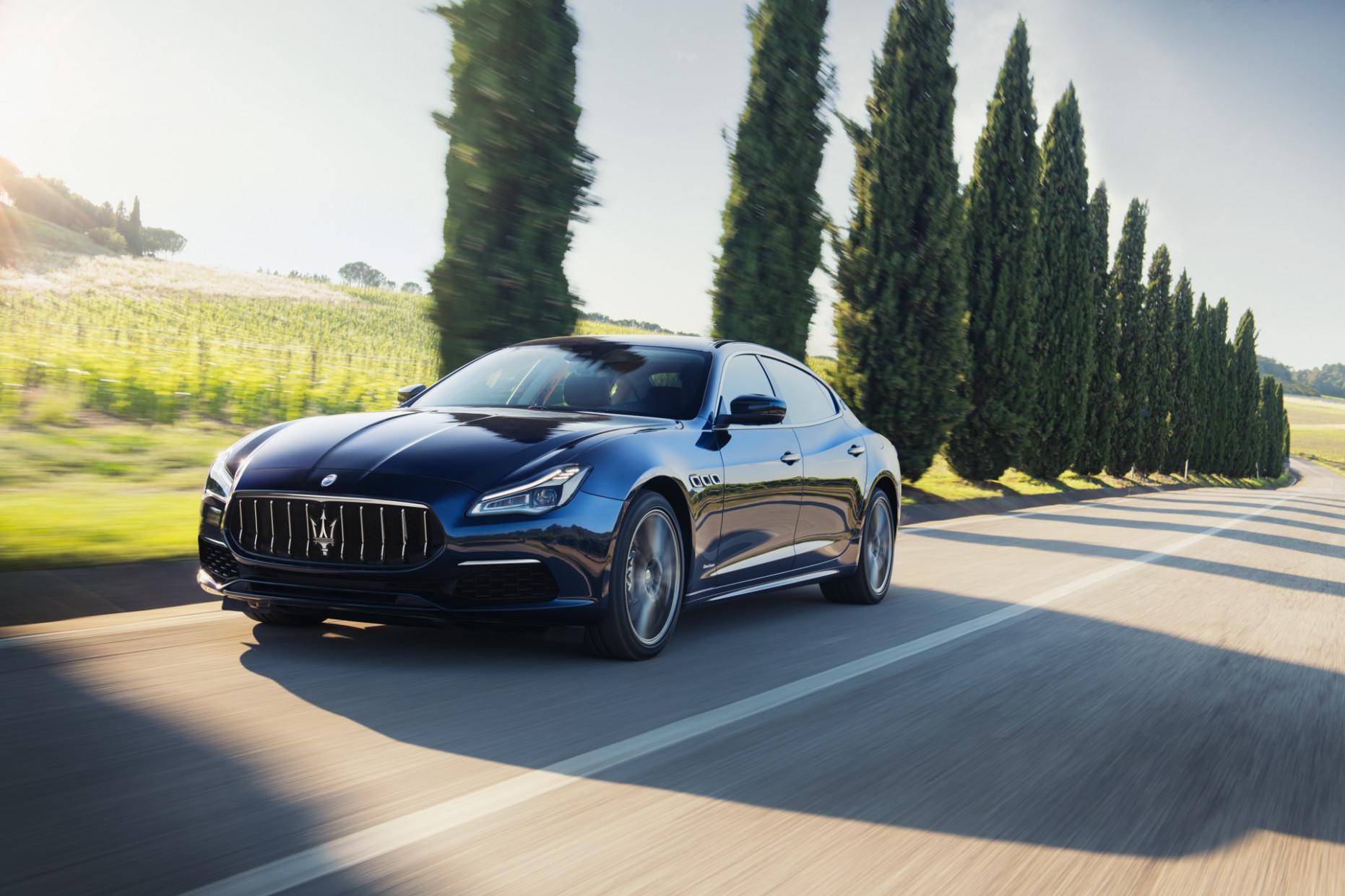 First Drive 2022 Maserati Quattroportes