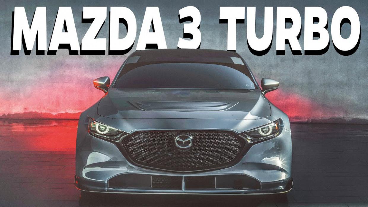 Spy Shoot 2022 Mazda 3 Turbo