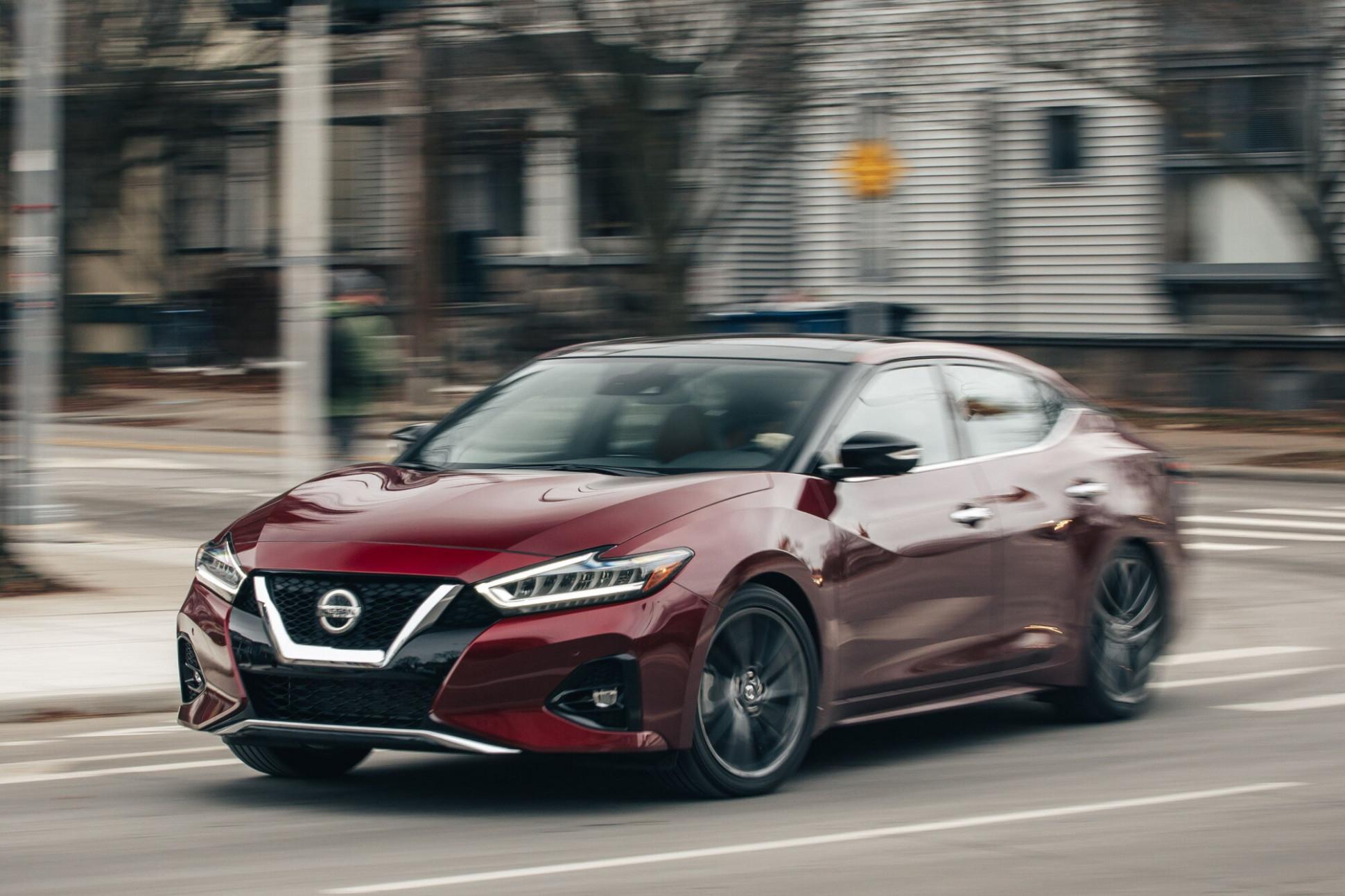 Speed Test 2022 Nissan Maxima
