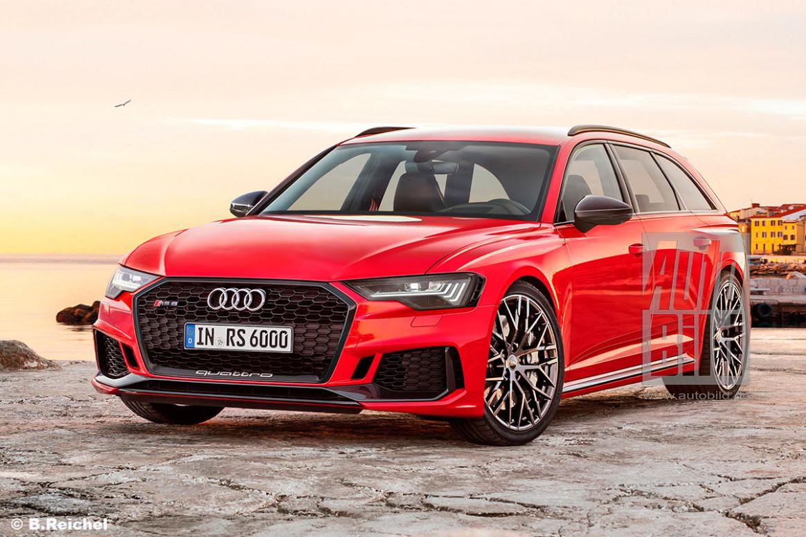Rumors 2022 The Audi A6