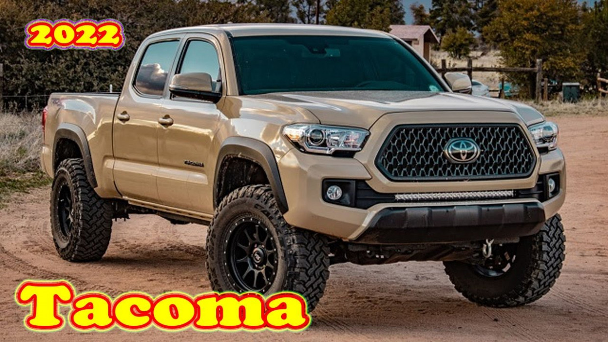 Redesign and Concept 2022 Toyota Tacoma Diesel