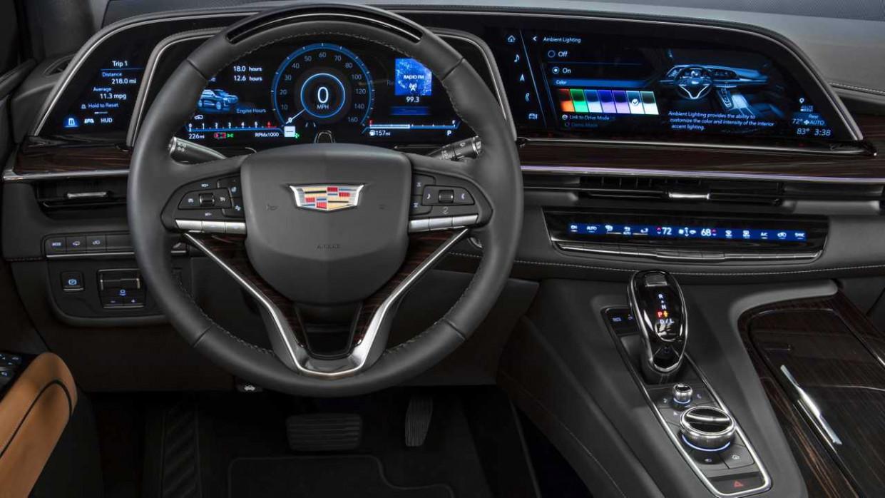 Configurations Cadillac Escalade 2022 Model