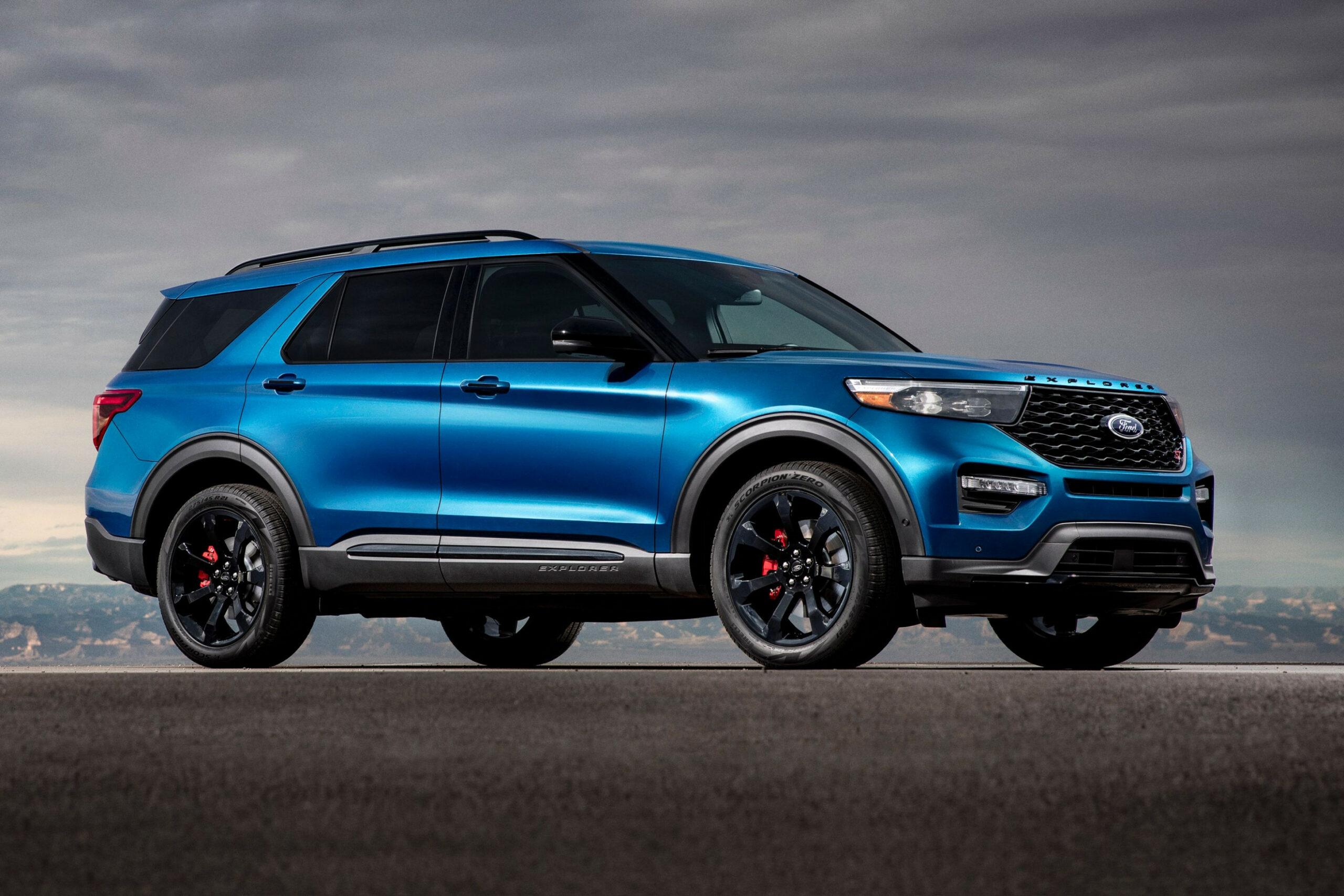 Redesign Ford Usa Explorer 2022