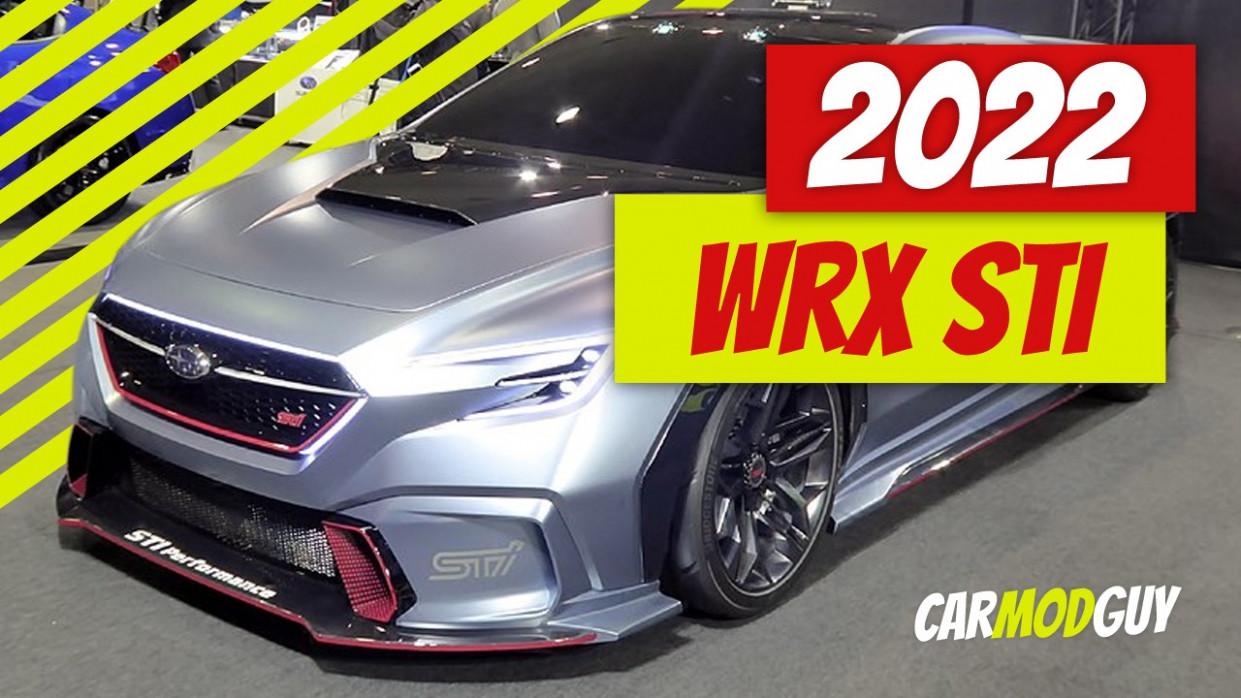 New Concept Subaru Wrx Sti 2022 Engine