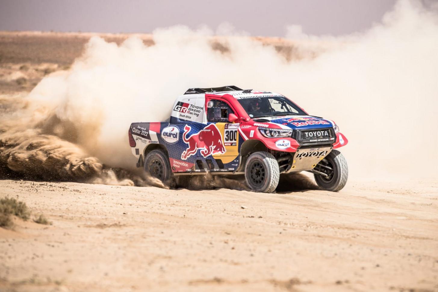 Photos Toyota Dakar 2022