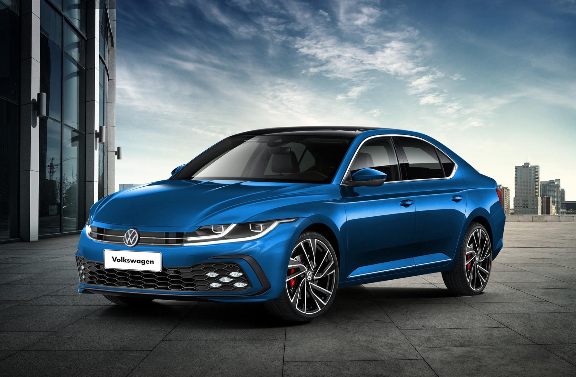 Concept Volkswagen Sedan 2022