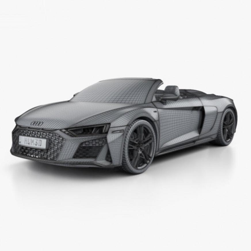 Overview 2022 Audi R8 V10 Spyder