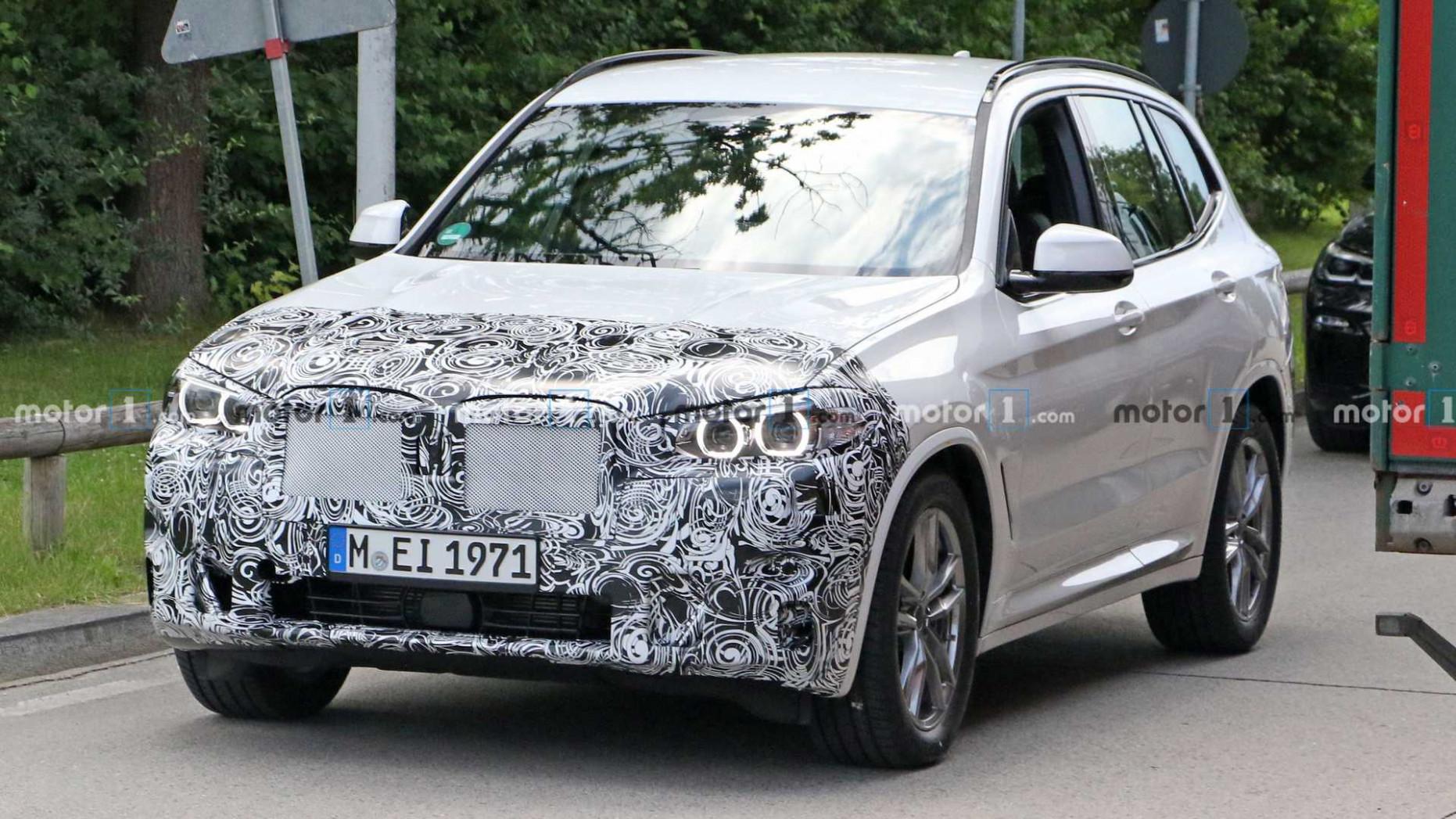 Spy Shoot 2022 BMW X3 Release Date