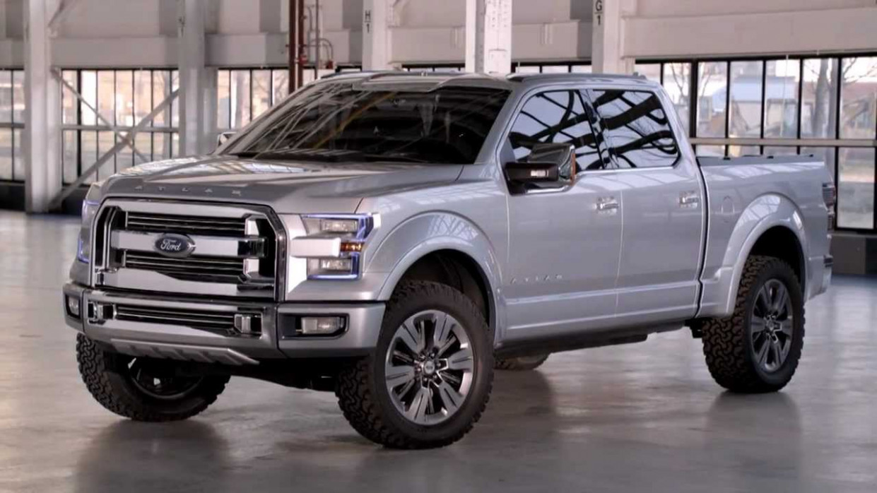Exterior and Interior 2022 Ford F150 Atlas