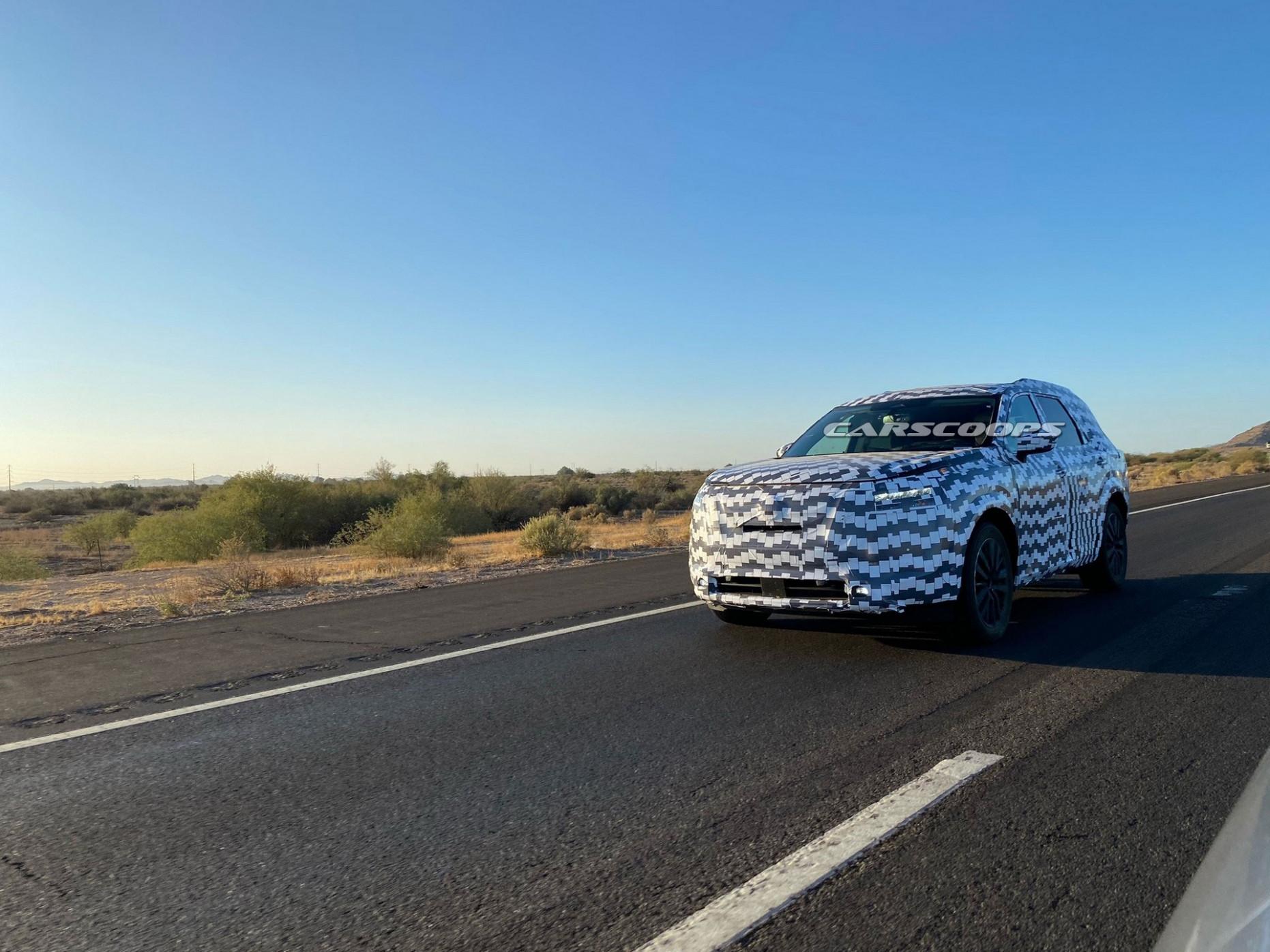 Interior 2022 Nissan Pathfinder