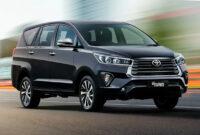 pricing toyota innova crysta facelift 2022