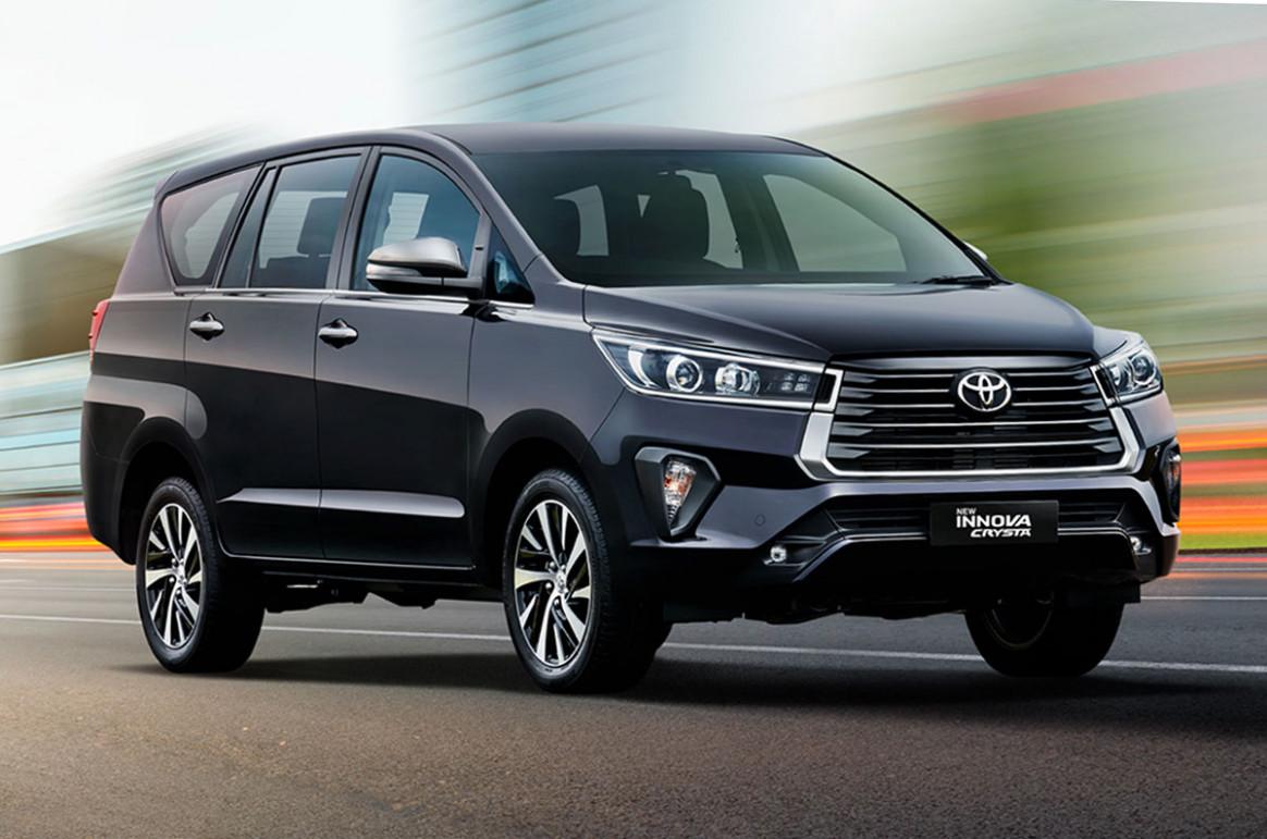 Configurations Toyota Innova Crysta Facelift 2022