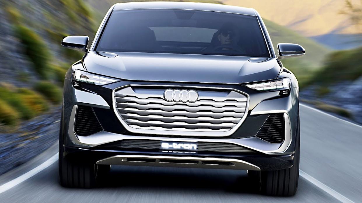 Exterior 2022 Audi Q4s