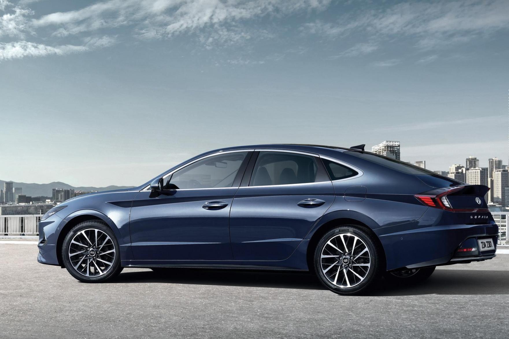 Exterior 2022 Hyundai Sonata