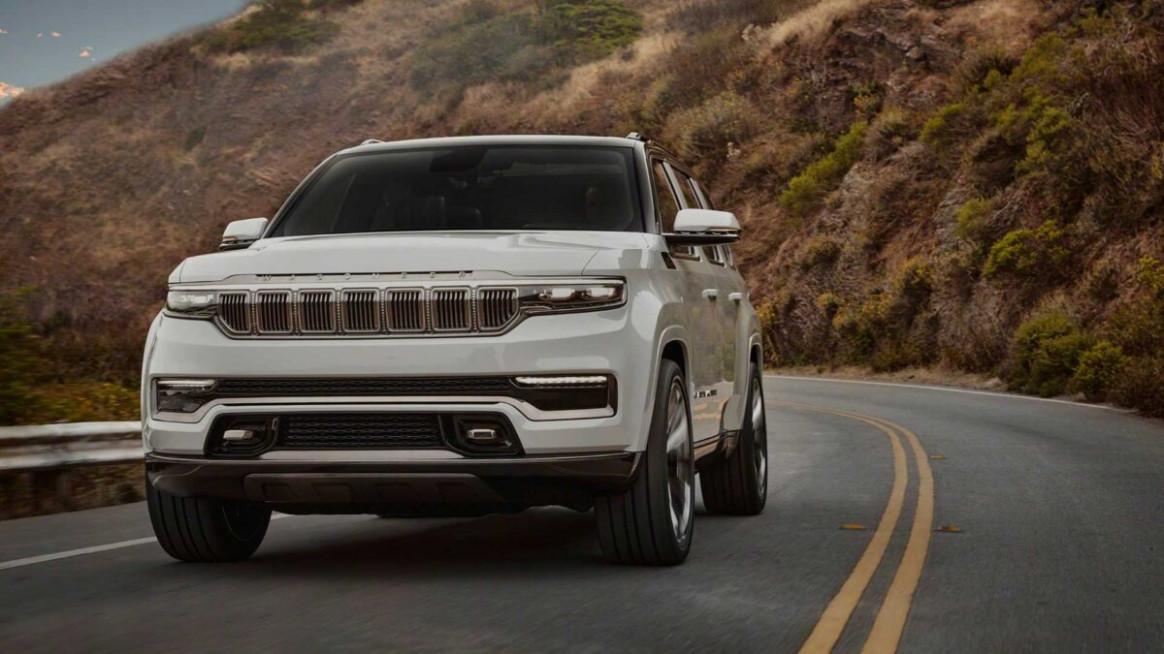 Spy Shoot 2022 Jeep Grand Wagoneer