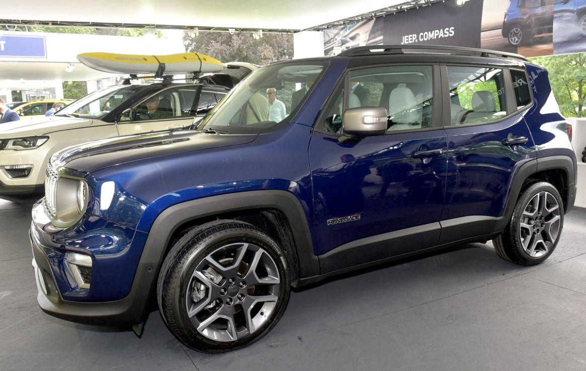 Exterior and Interior 2022 Jeep Renegade