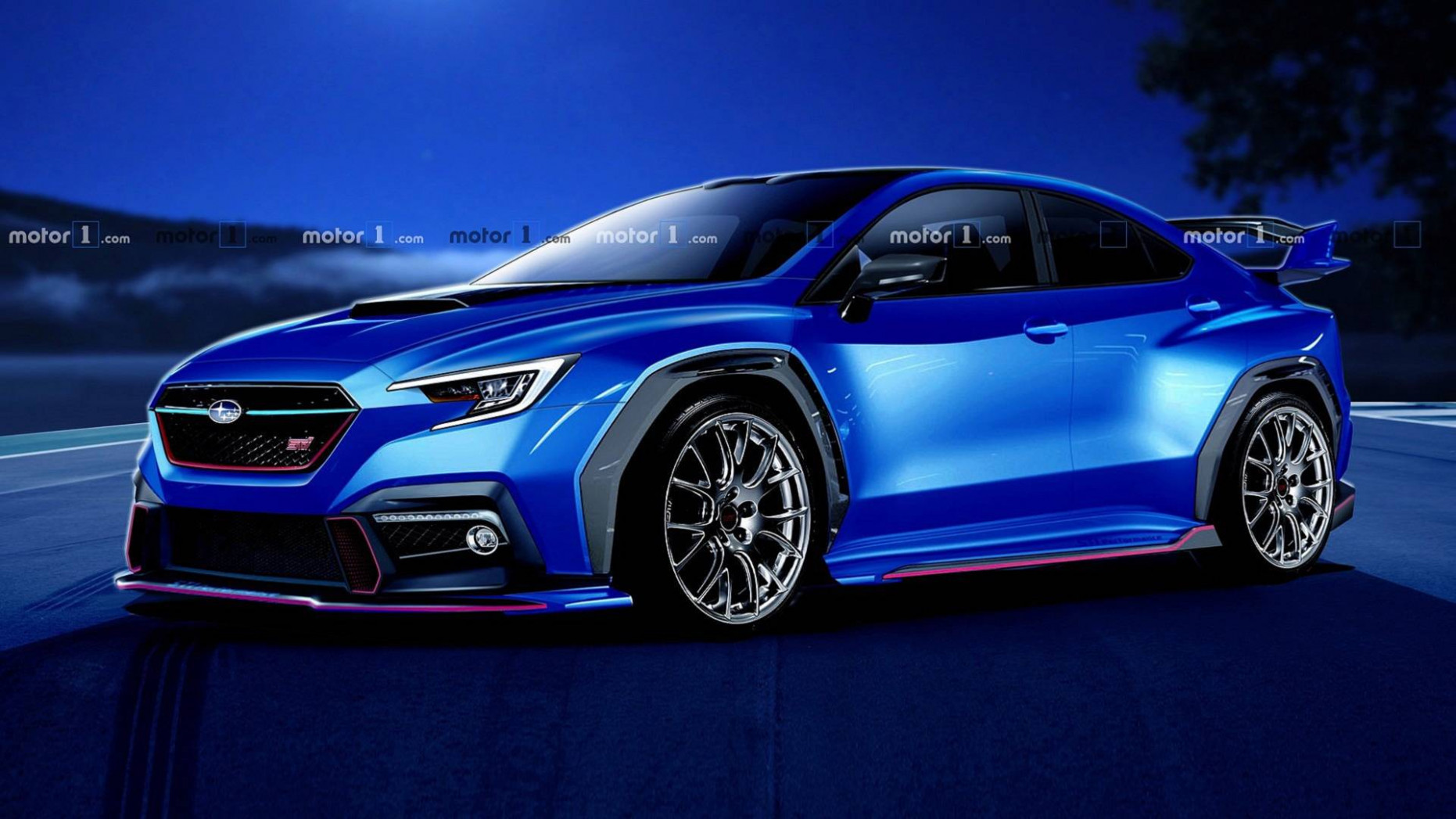 Price and Review 2022 Wrx Sti Hyperblue