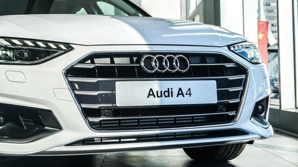 Redesign Audi Facelift A4 2022