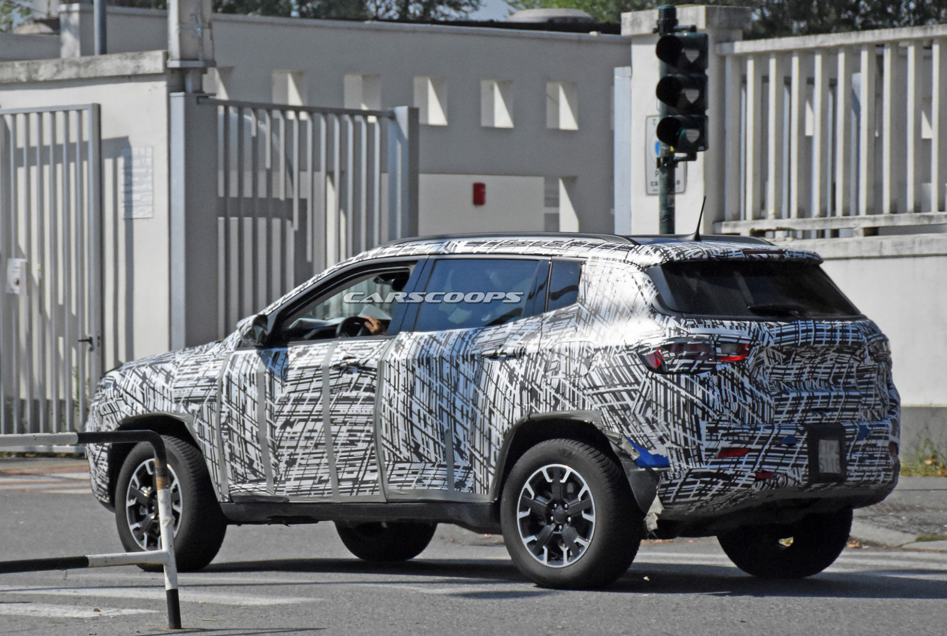 Spy Shoot Jeep Compass 2022
