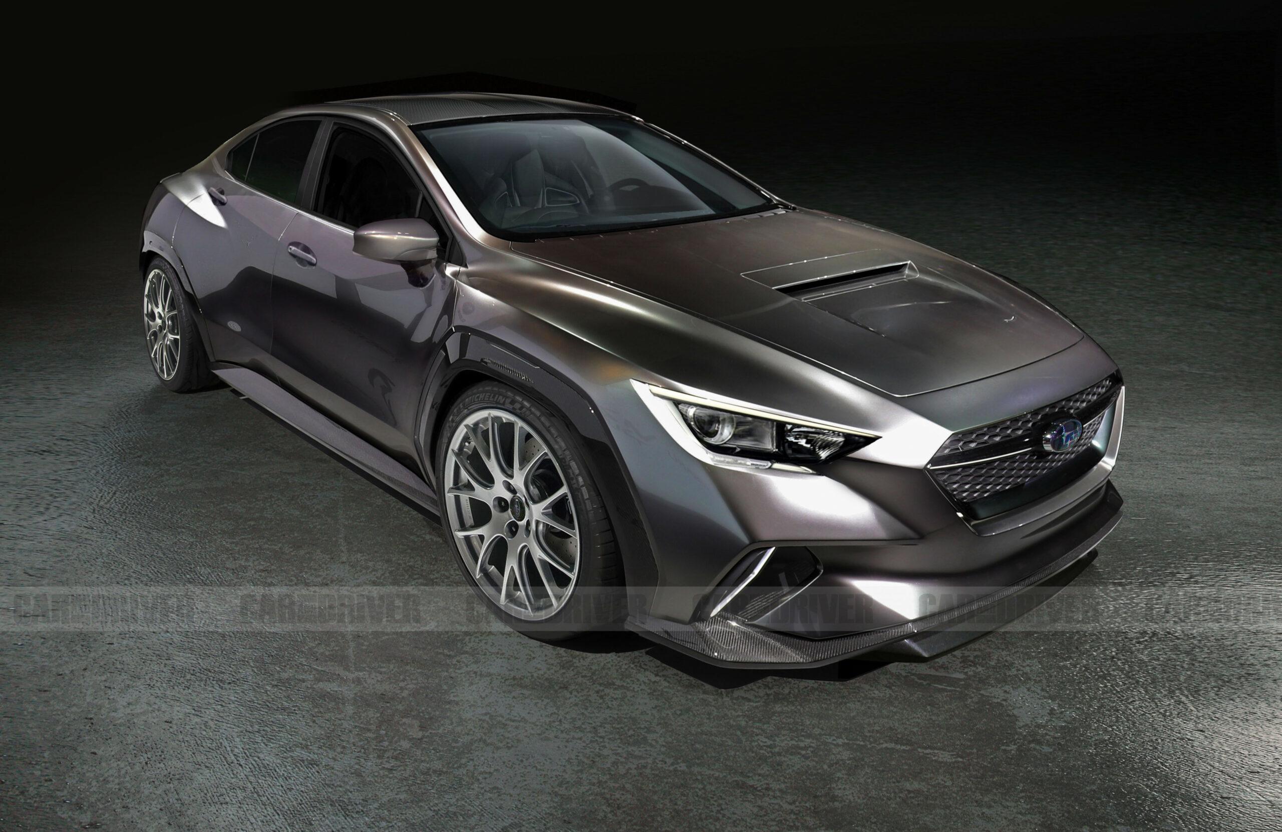Concept Subaru Sti 2022 Horsepower