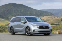ratings when does 2022 honda odyssey come out