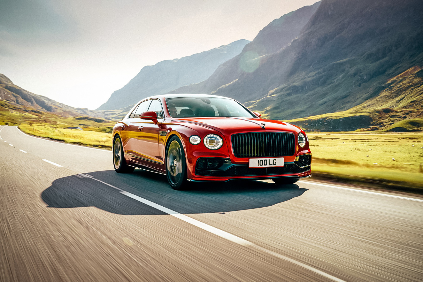 First Drive 2022 Bentley Flying Spur