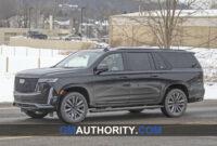 Spy Shoot 2022 Cadillac Escalade Ext
