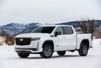 redesign 2022 cadillac pickup