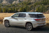 redesign 2022 chevy traverse