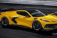 redesign 2022 corvette z07