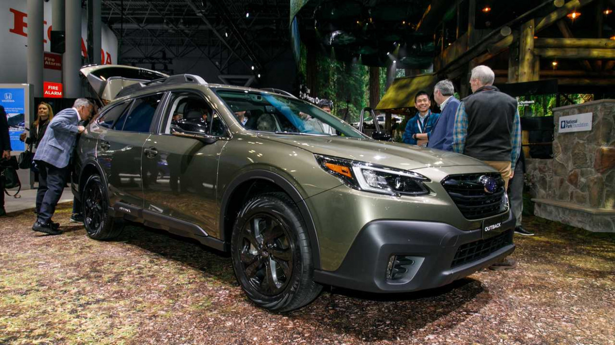 First Drive 2022 Subaru Outback Exterior Colors