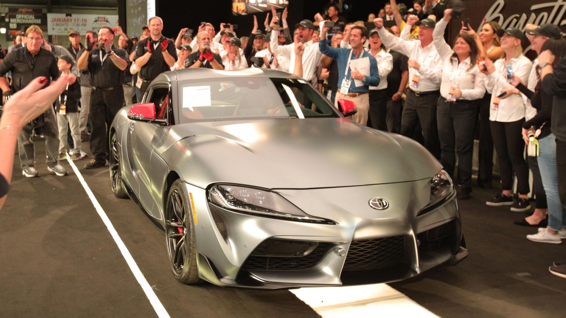Reviews 2022 Toyota Supra Barrett Jackson