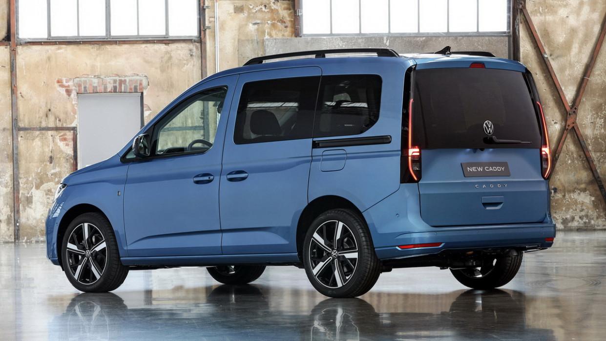Interior 2022 VW Caddy