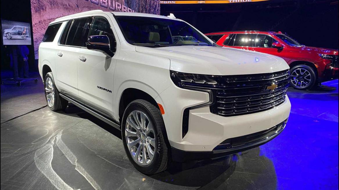 Redesign 2022 Chevrolet Suburban Redesign